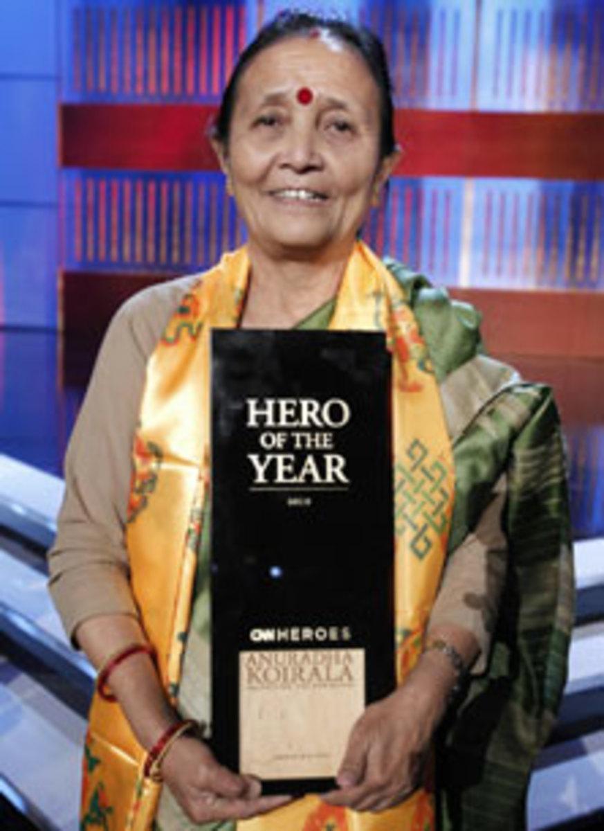 Savior From Sex Slavery, Anuradha Koirala