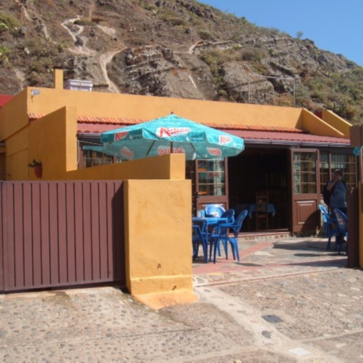 Chinamada's La Cueva bar and restaurant. Photo by Steve Andrews