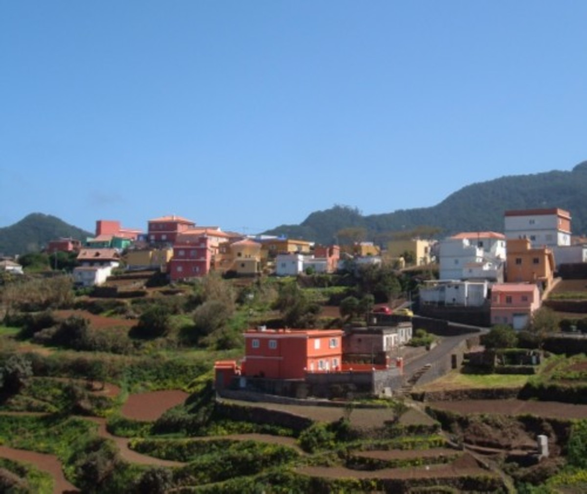 Las Carboneras village. Photo by Steve Andrews