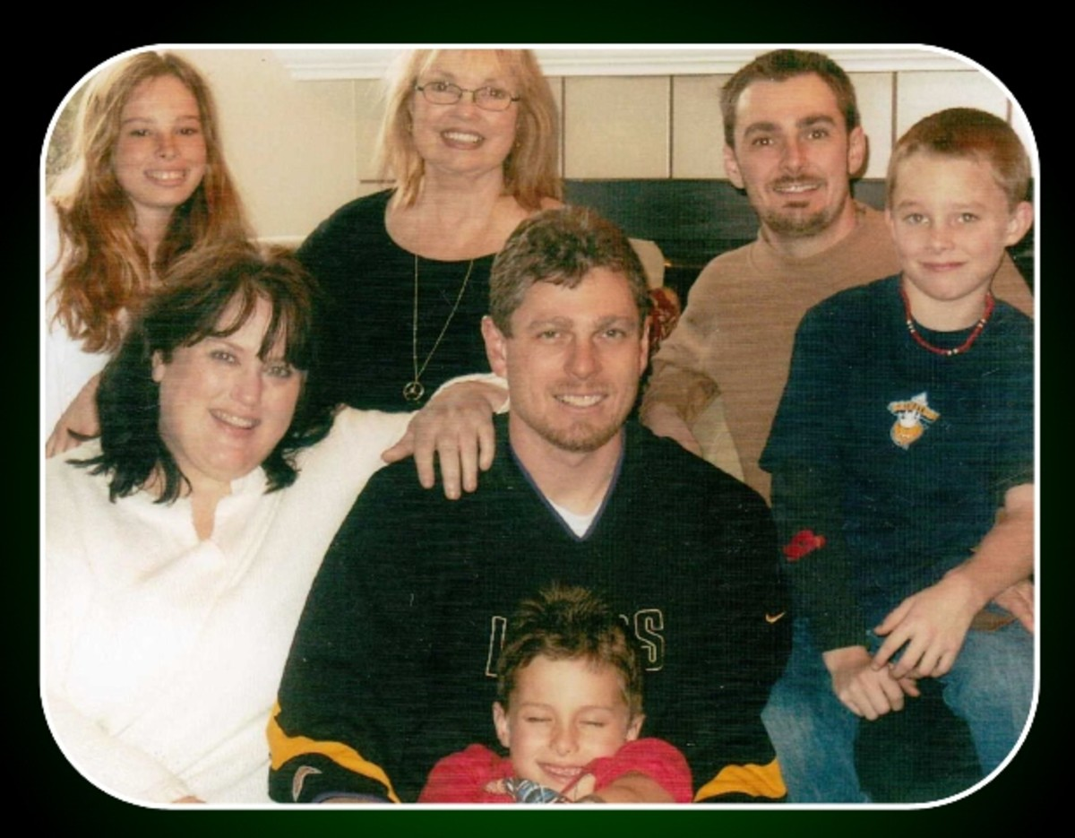 Todd with the Family 2004