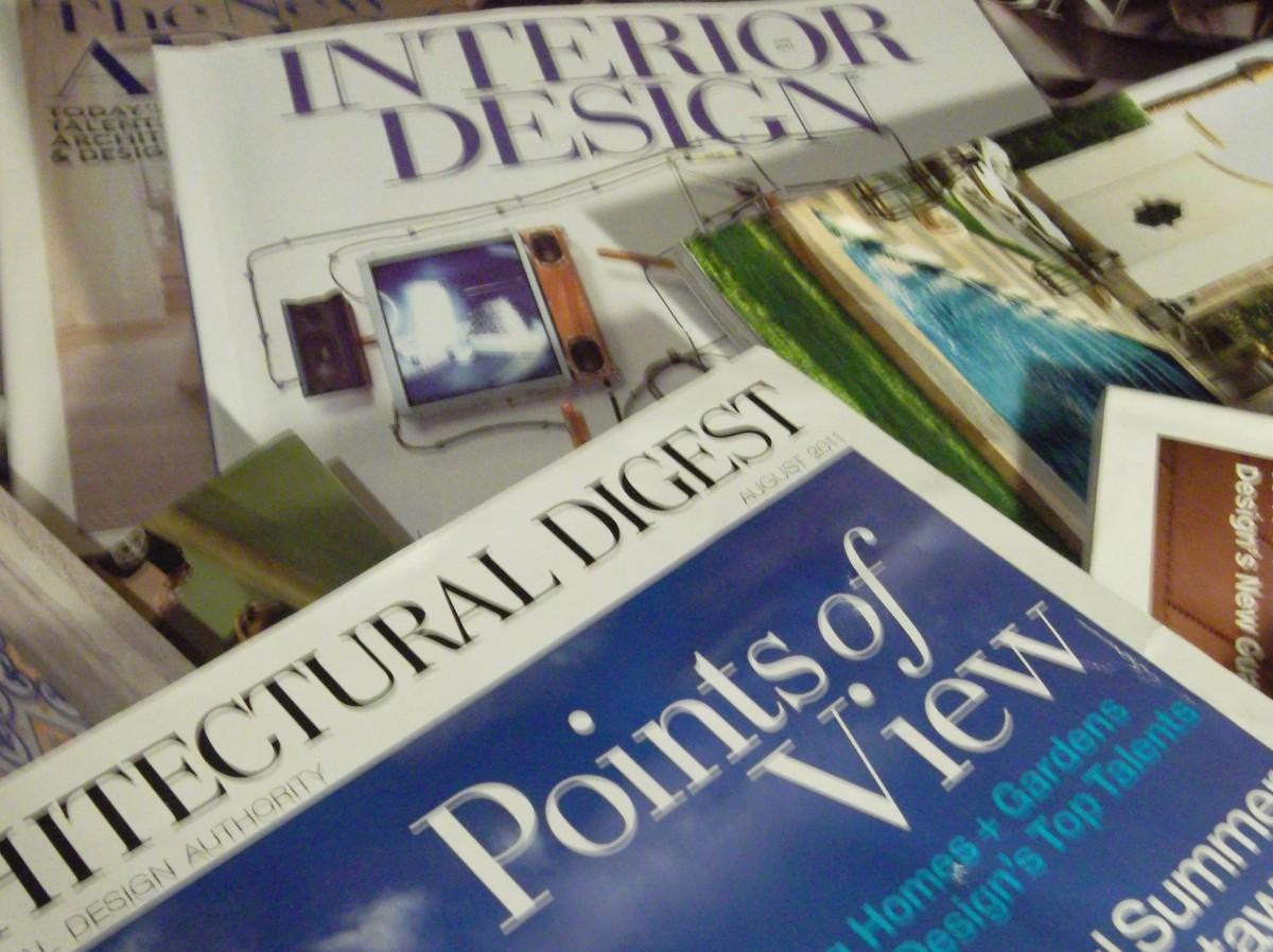 Top Books and Magazines Every Interior Designer or Aspiring Designer Must Own