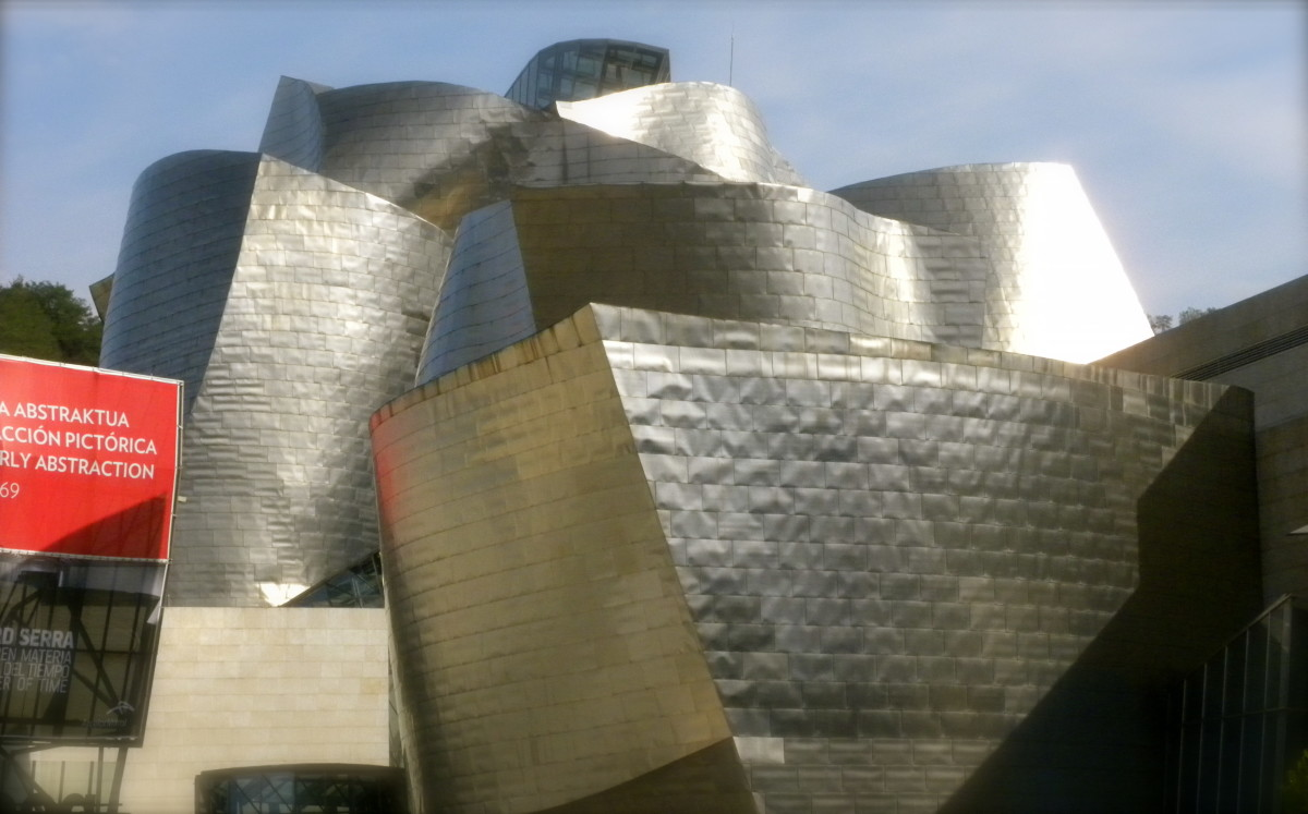 The Guggenheim Museum of Modern Art in Bilbao, Spain