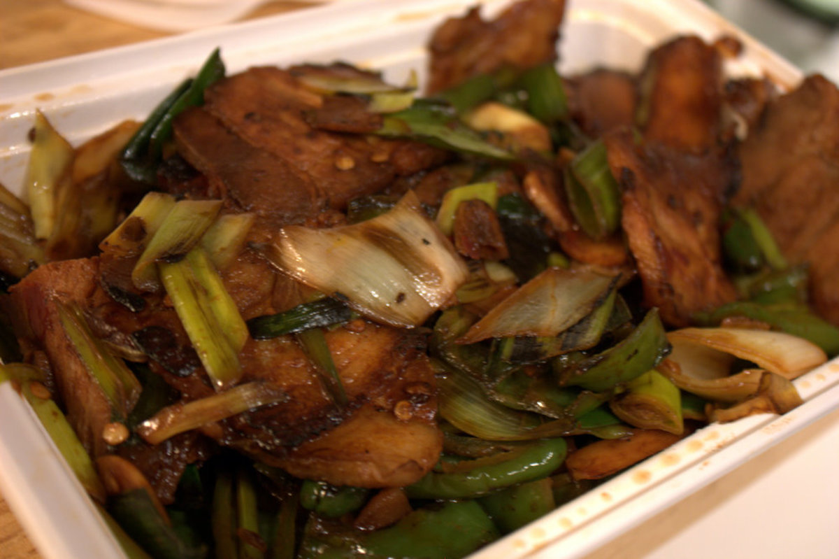 Double Cooked Pork With Hoisin Sauce