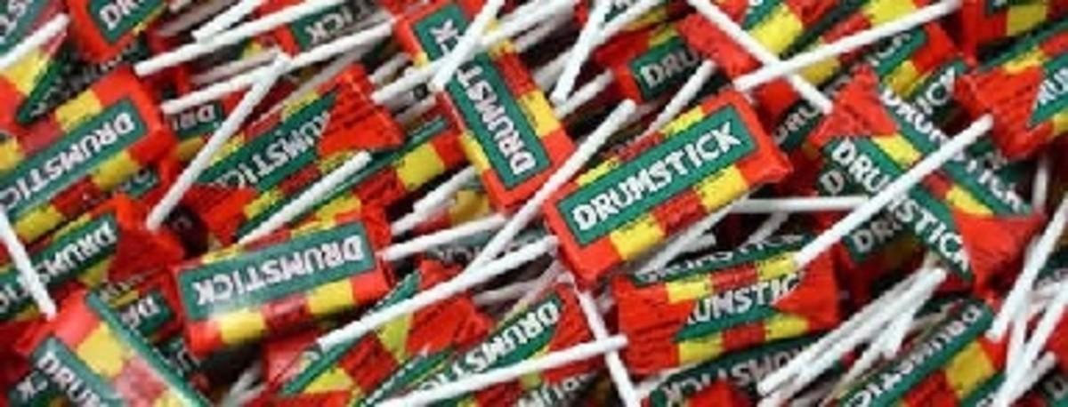Drumstick lollies