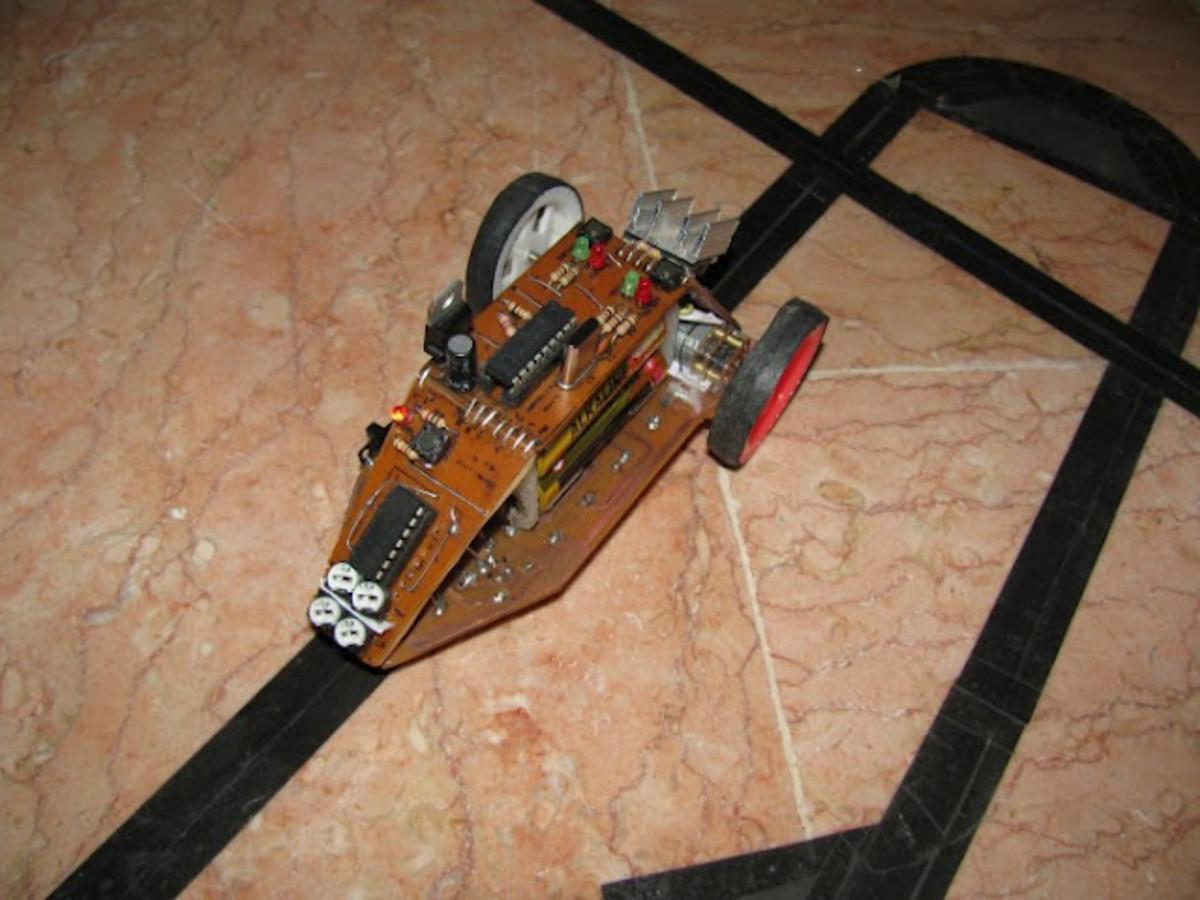A simple line follower robot.