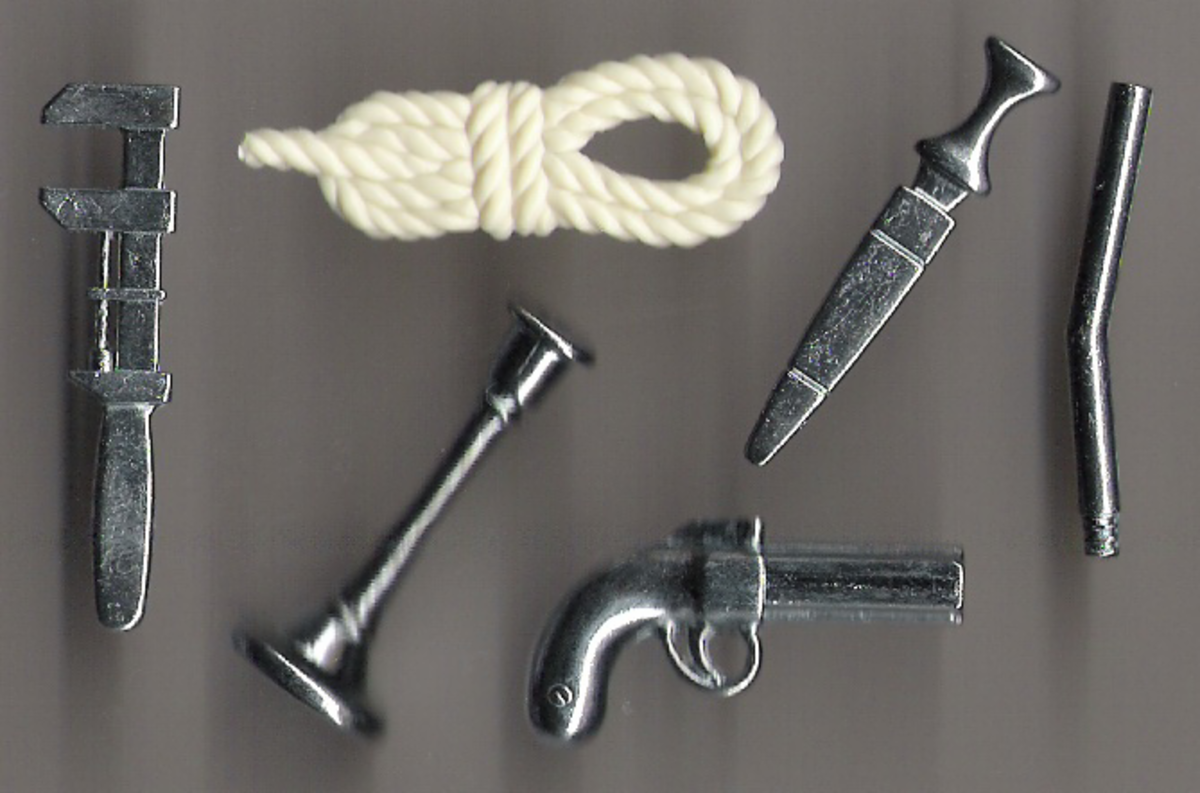 These are the weapons that the killer may have used!