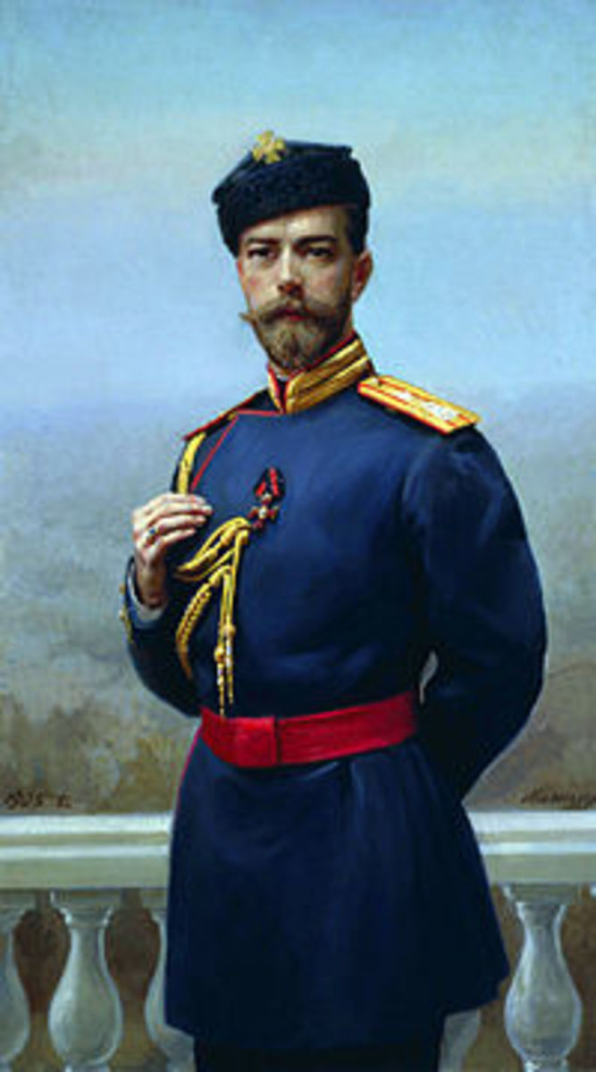To what extent was Nicholas II personally responsible for the downfall of the Tsarist regime?