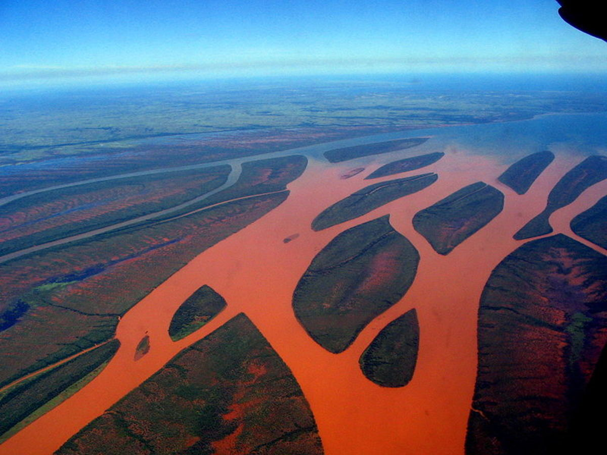Erosion due to deforestation has caused major silting of rivers