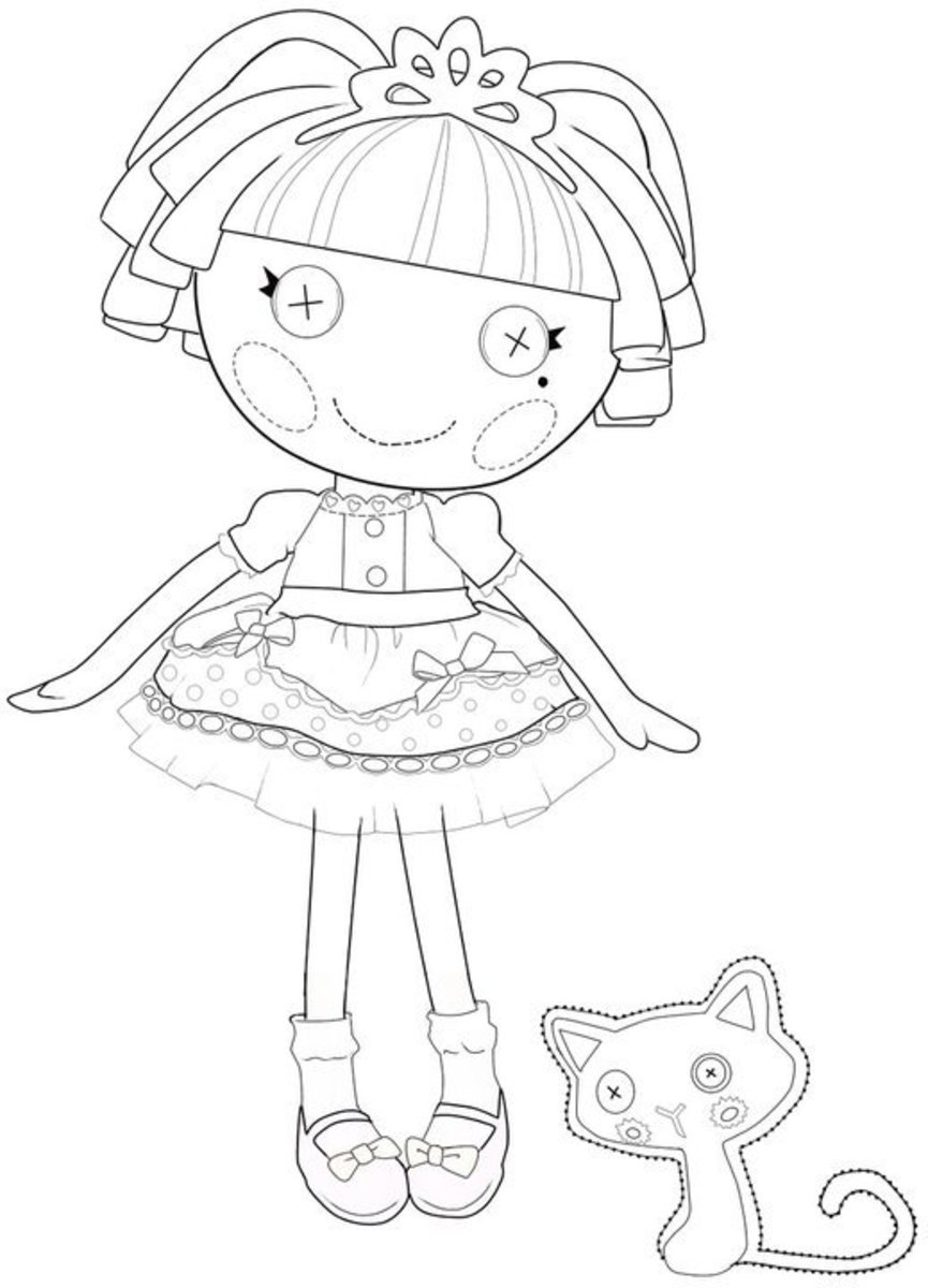 lalaloopsy jewel sparkle coloring pages the best lalaloopsy dolls coloring pages