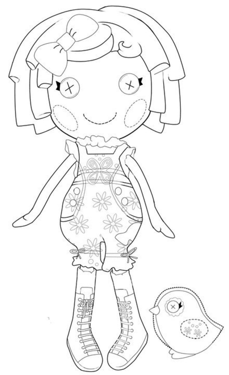 lalaloopsy coloring pages for kids - photo#28