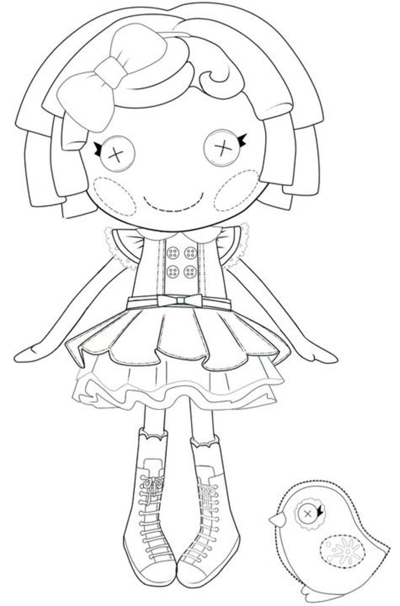 The Best Lalaloopsy Dolls Coloring Pages Printable Lalaloopsy Coloring Pages