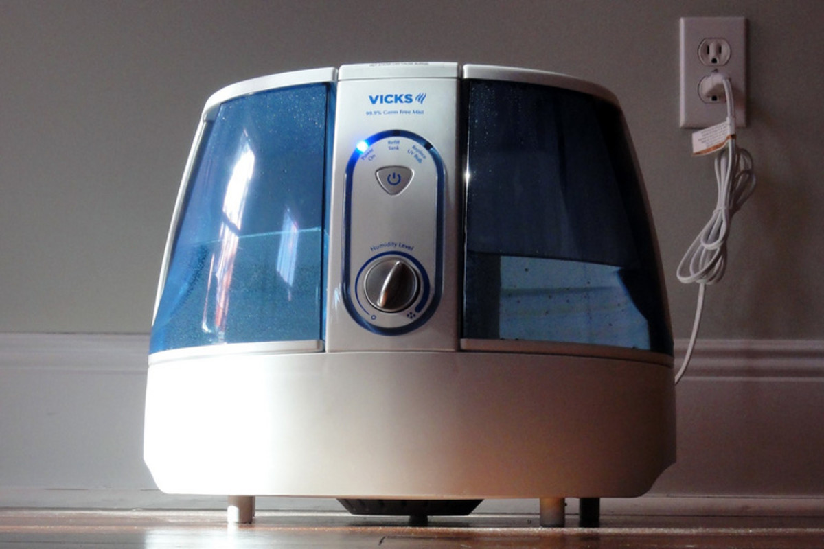 Using a humidifier can help relieve a stuffy nose.