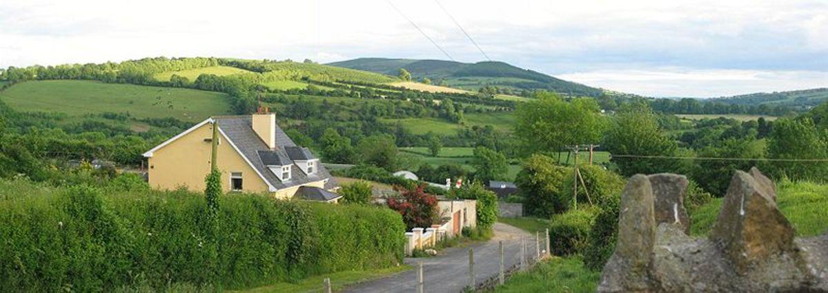 The beautiful Irish countryside!