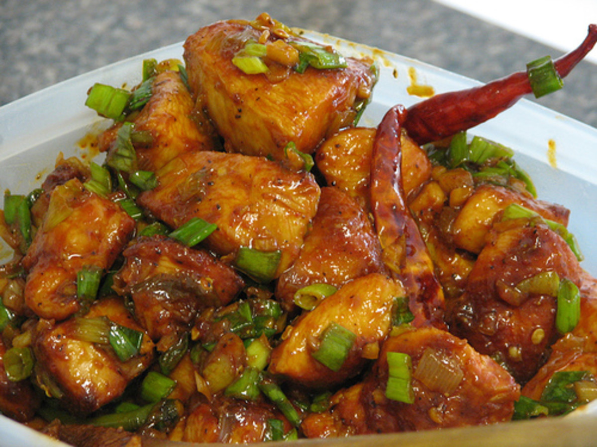 How to Make Chinese Chilli Chicken at home