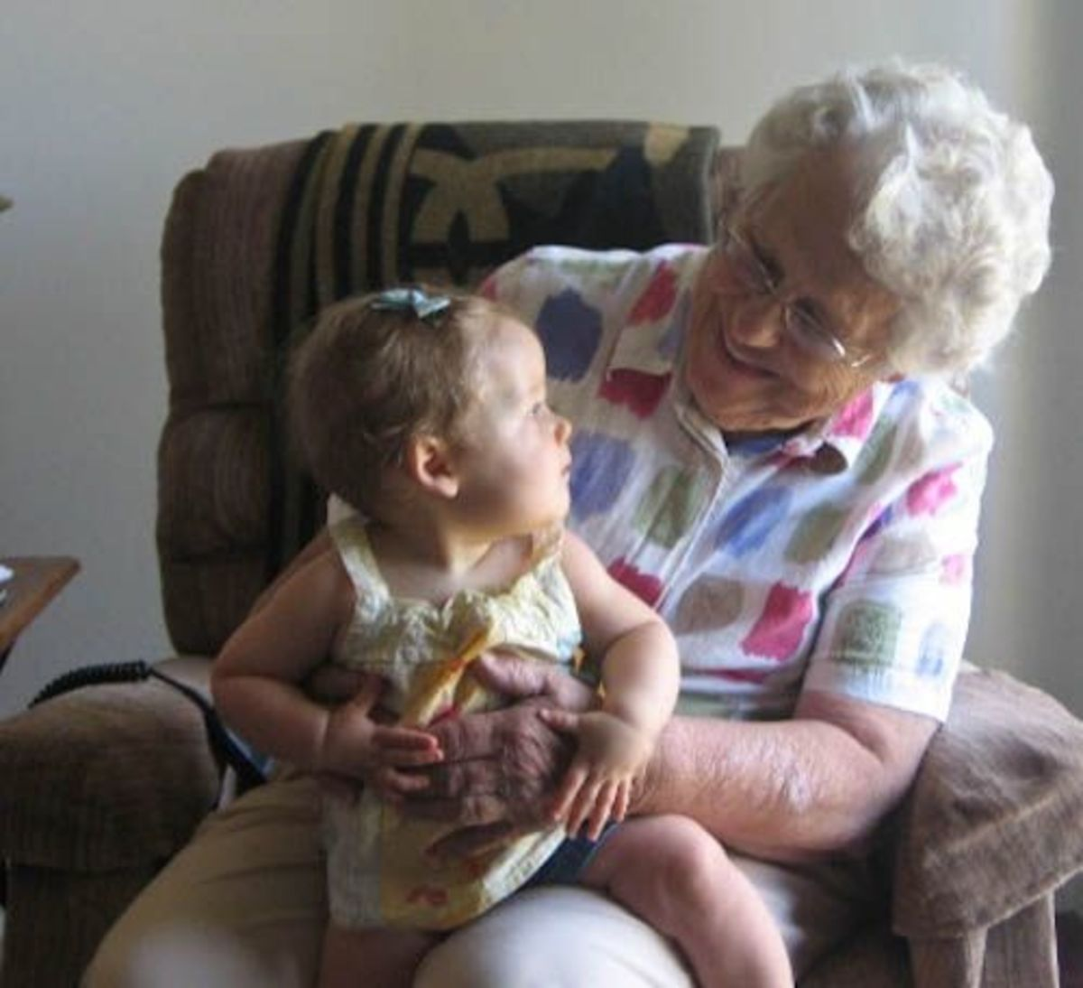 Great Grandma and Ella
