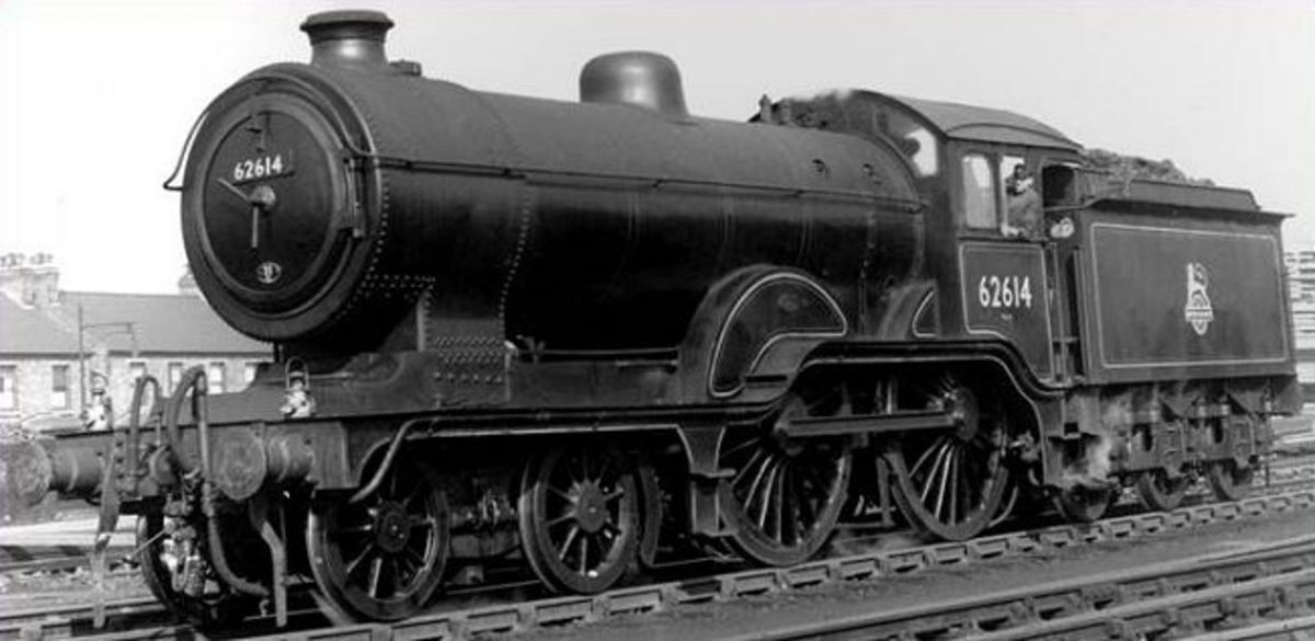 On the Great Eastern an express 4-4-0 was built in the days before the GER turned to the 4-6-0 wheel arrangement for express locos - Hornby brought out their 'Claud' this year