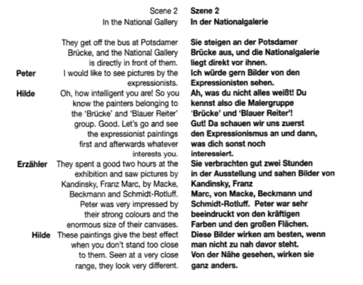 Sample of suggestopedic text presentation, p. 160.