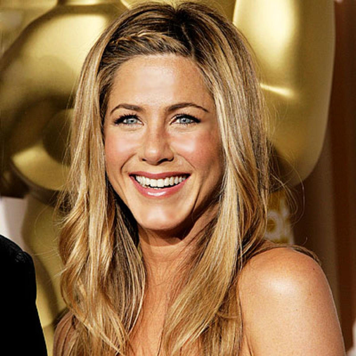 Jennifer Aniston always get top choice for best hair.