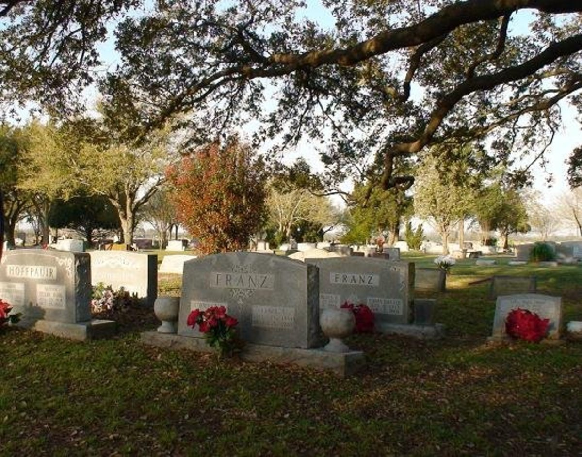 The Witch's Grave in Katy, TX