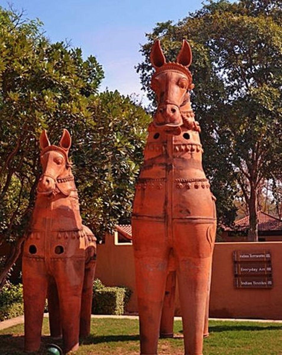Ayyanar Horses