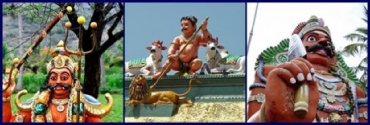 Village Guardian Deities of Tamil Nadu