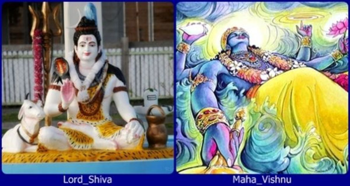 Supreme Gods: Shiva and Vishnu