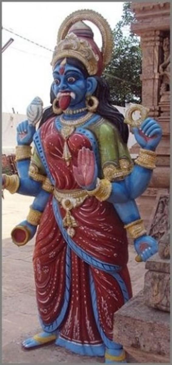 Goddess Kali -Statue