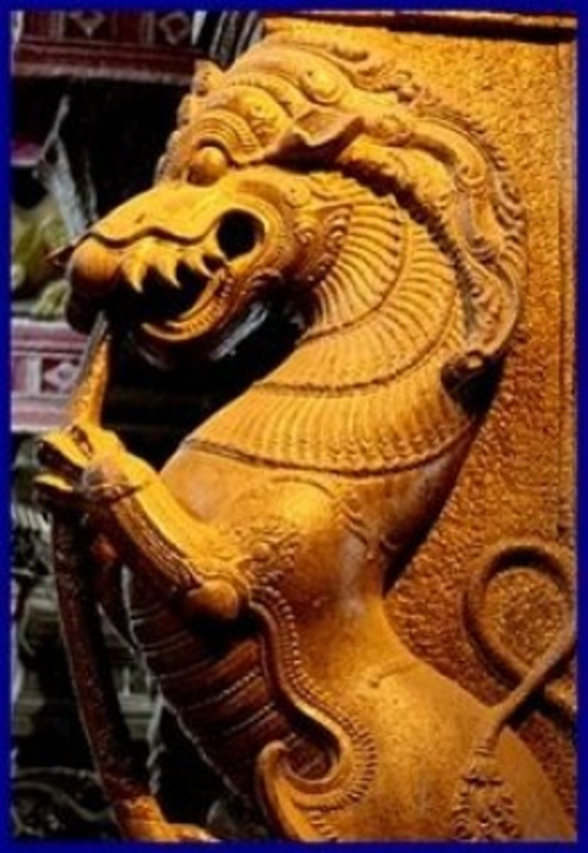 The Mythical Creature of Tamil Nadu