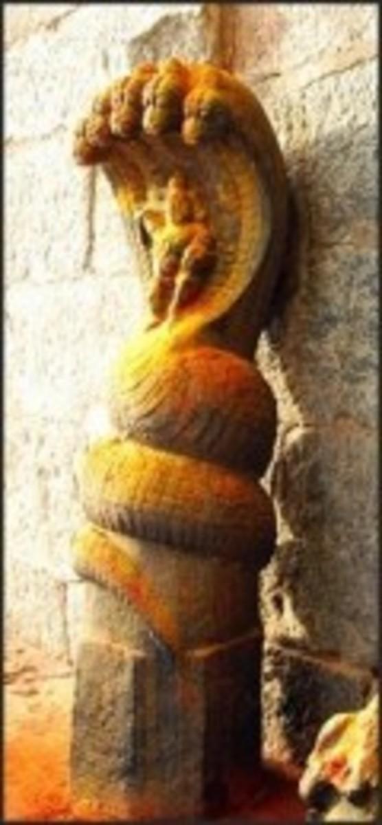 Naga Devathai (Snake God)