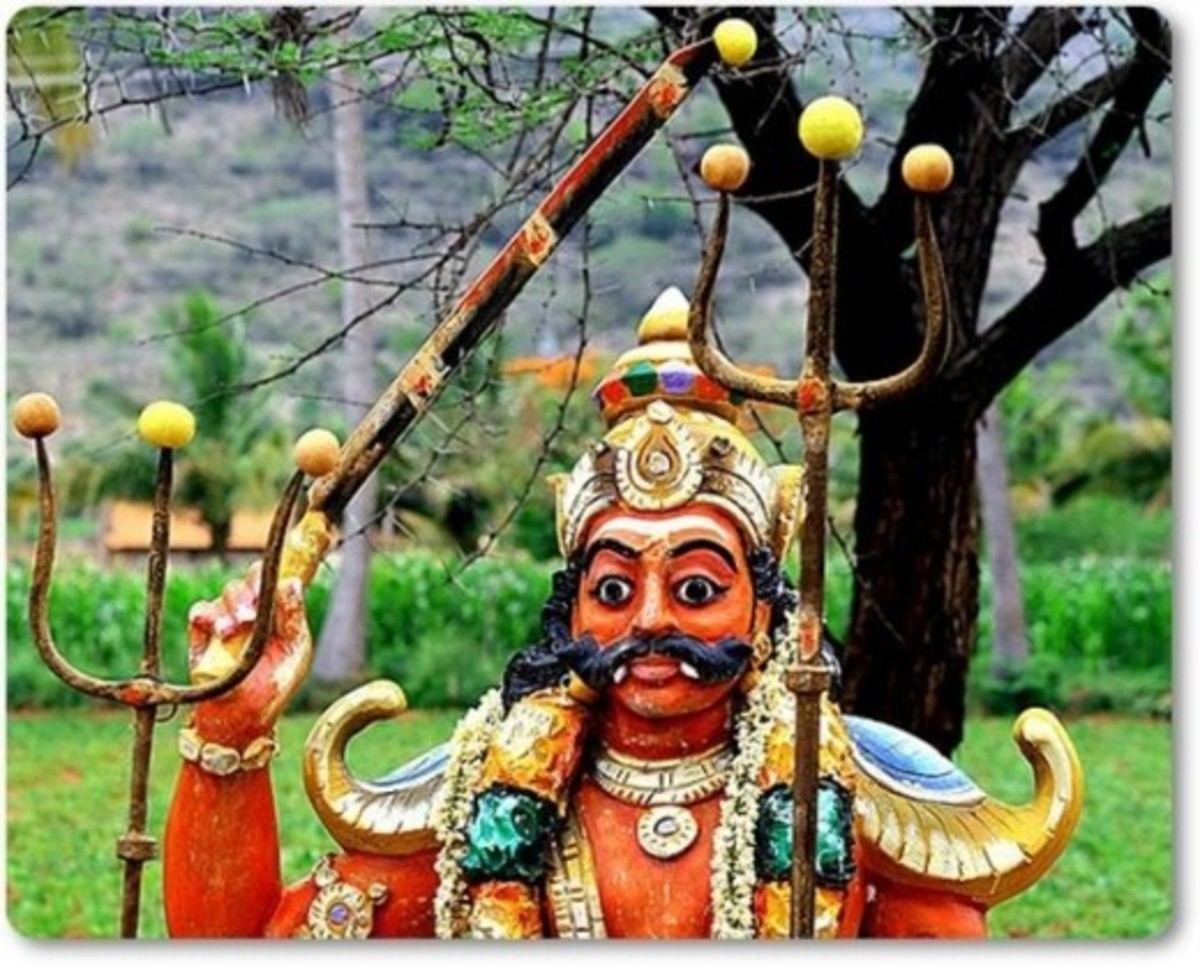 Muneeswaran - Village Deity