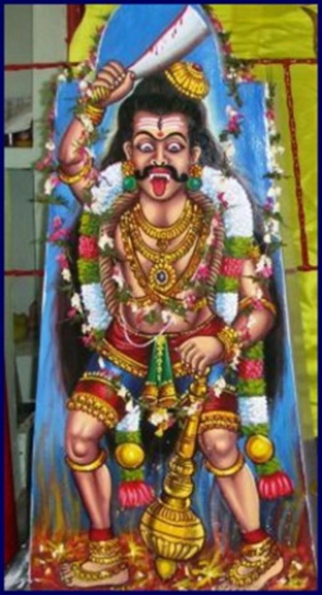 Iconic Image of Sudalai Madan