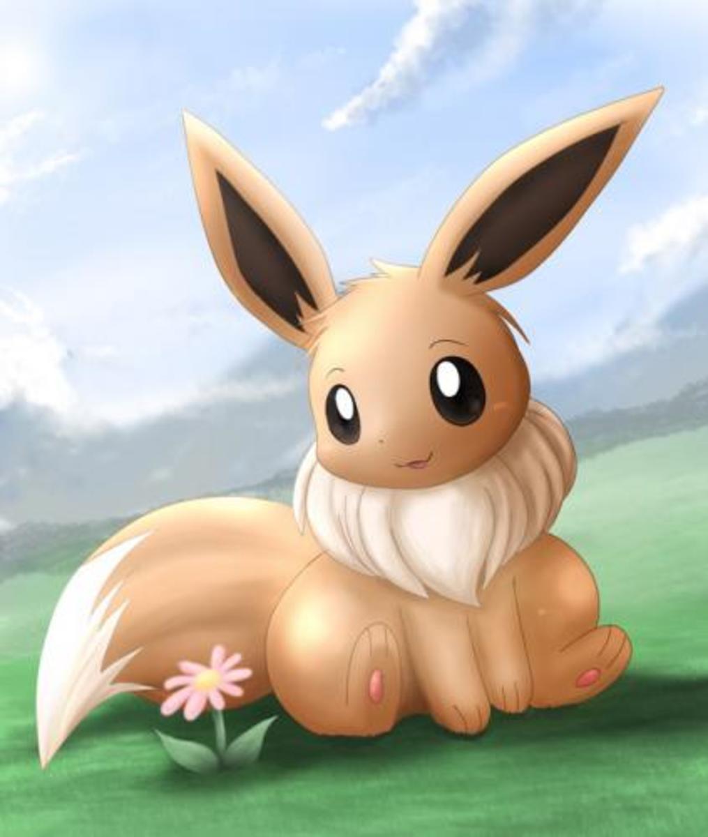 Eevee - the cutest Pokemon ever?