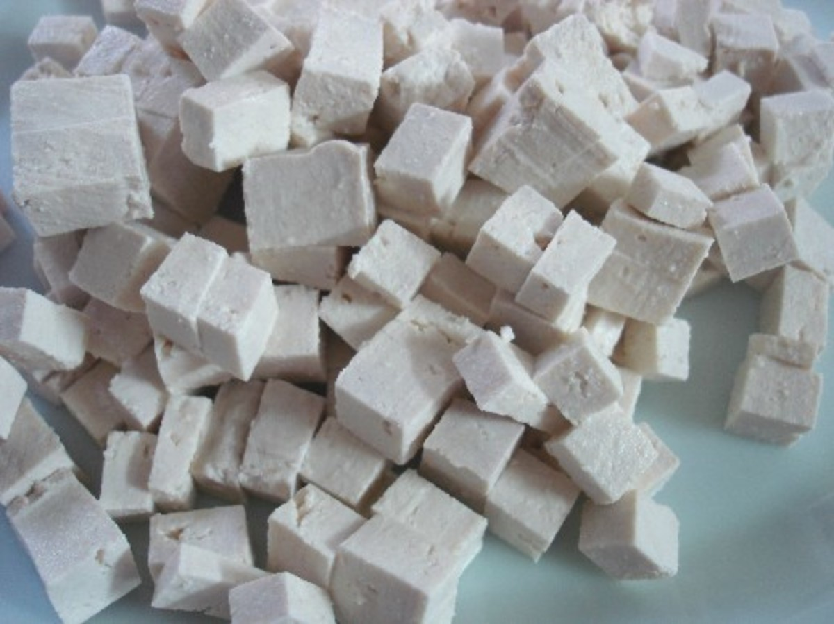 Avoid unfermented soy products such as tofu