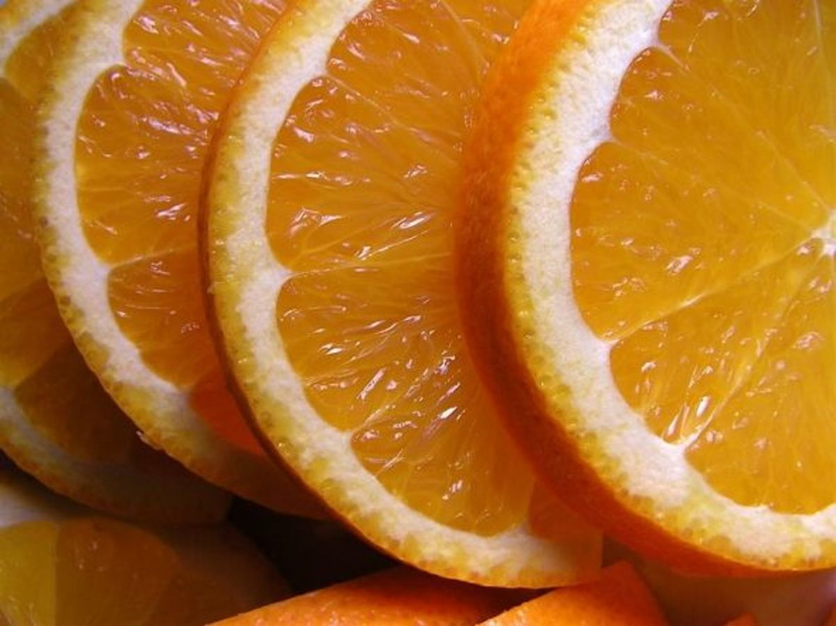 Orange slices- for licensing info, click the pic
