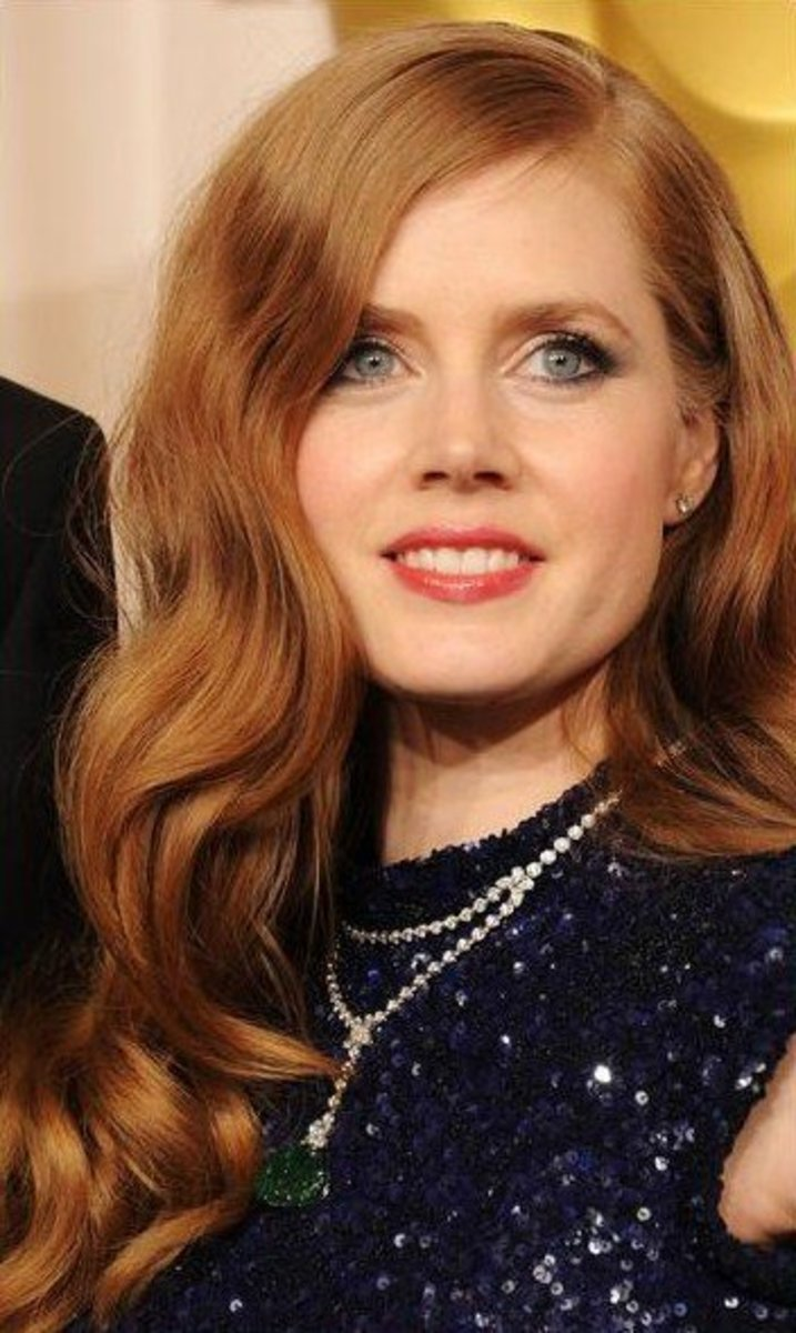 Redheaded Celebrities with Blue Eyes