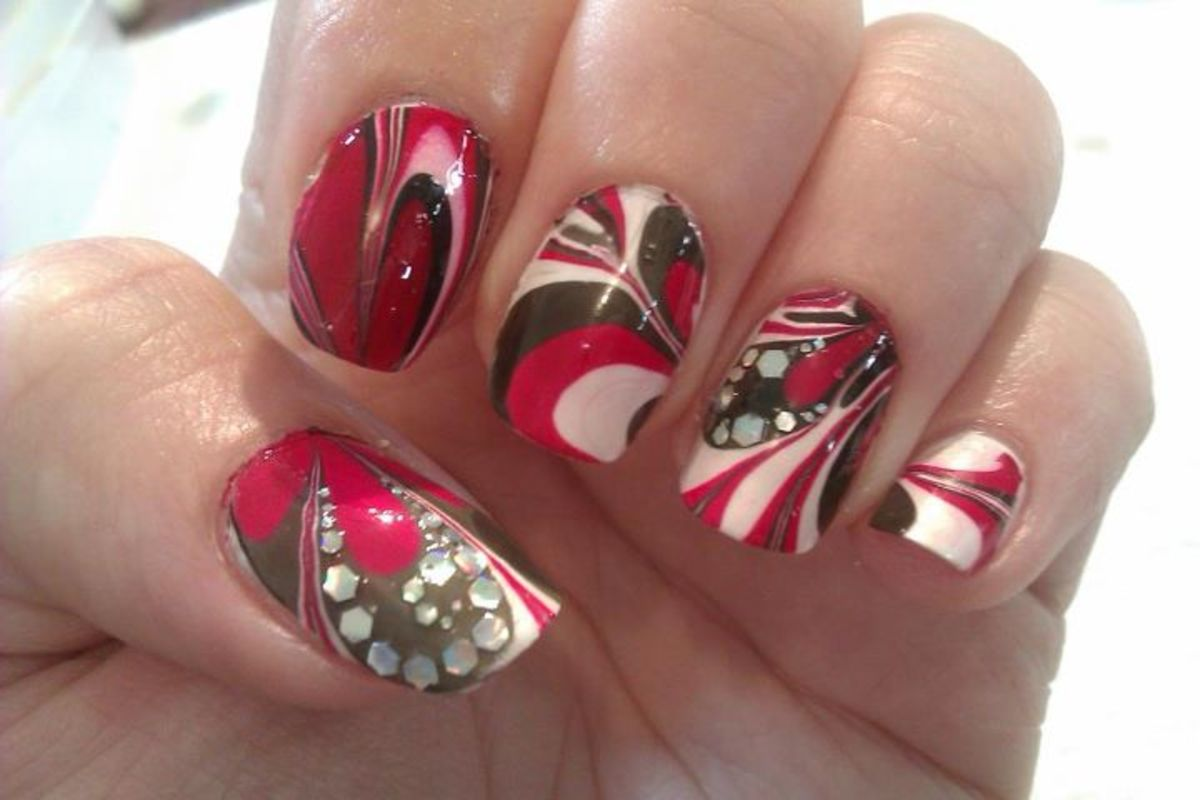 Cool Nail Polish Tricks Tips For Successful Water Marble Diy Nail Art Designs For Beginners
