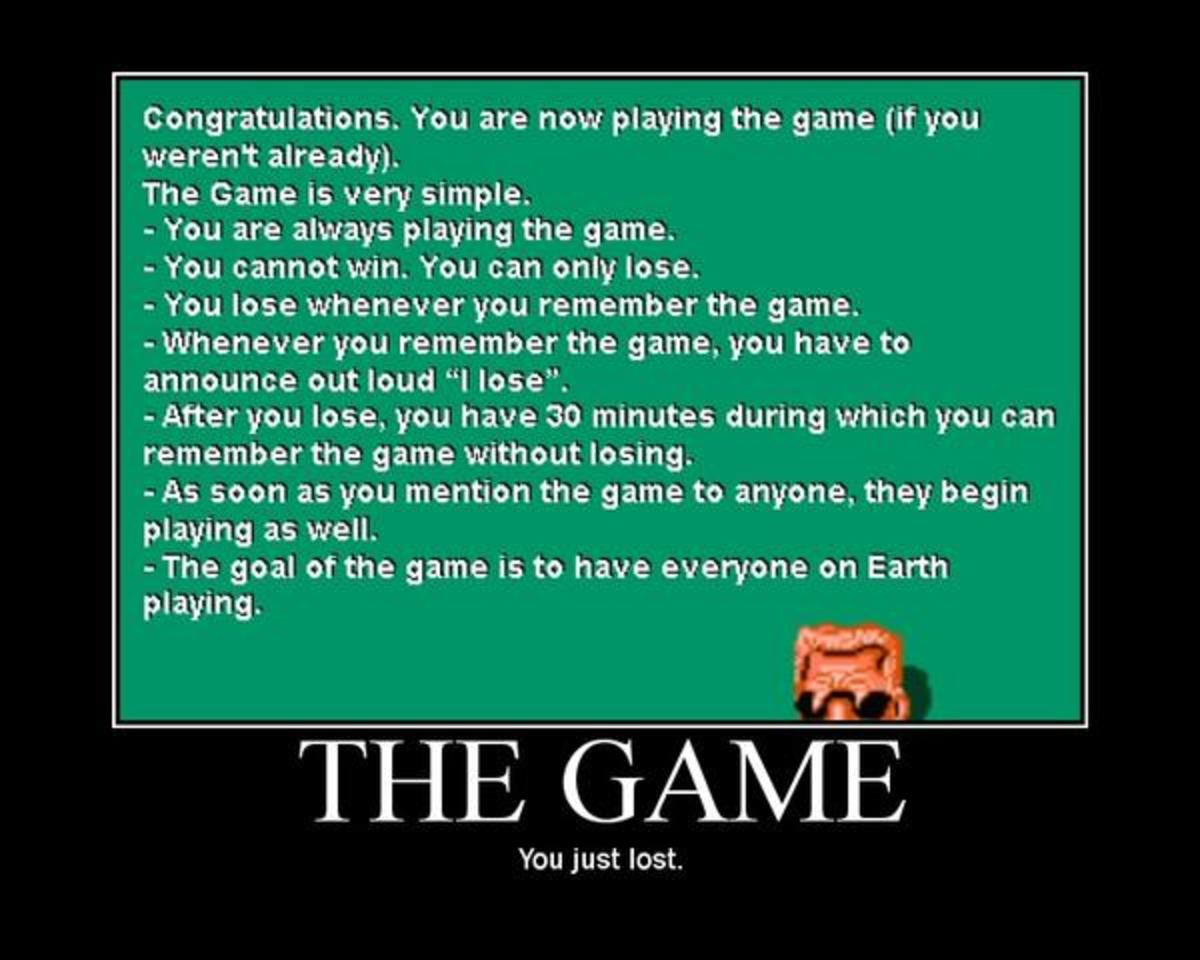 "A listing of the most common ""rules"" of The Game."