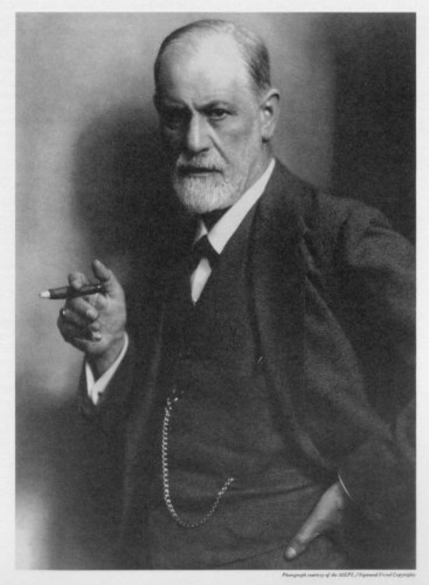 Sigmund Freud By Max Halberstadt (1882-1940) [Public Domain], via Wikimedia Commons