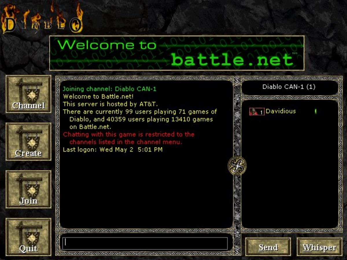 There are still people playing Diablo multiplayer online after 15 years.