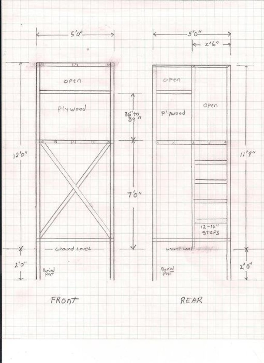 Free Deer Hunting Stand Plans Hubpages