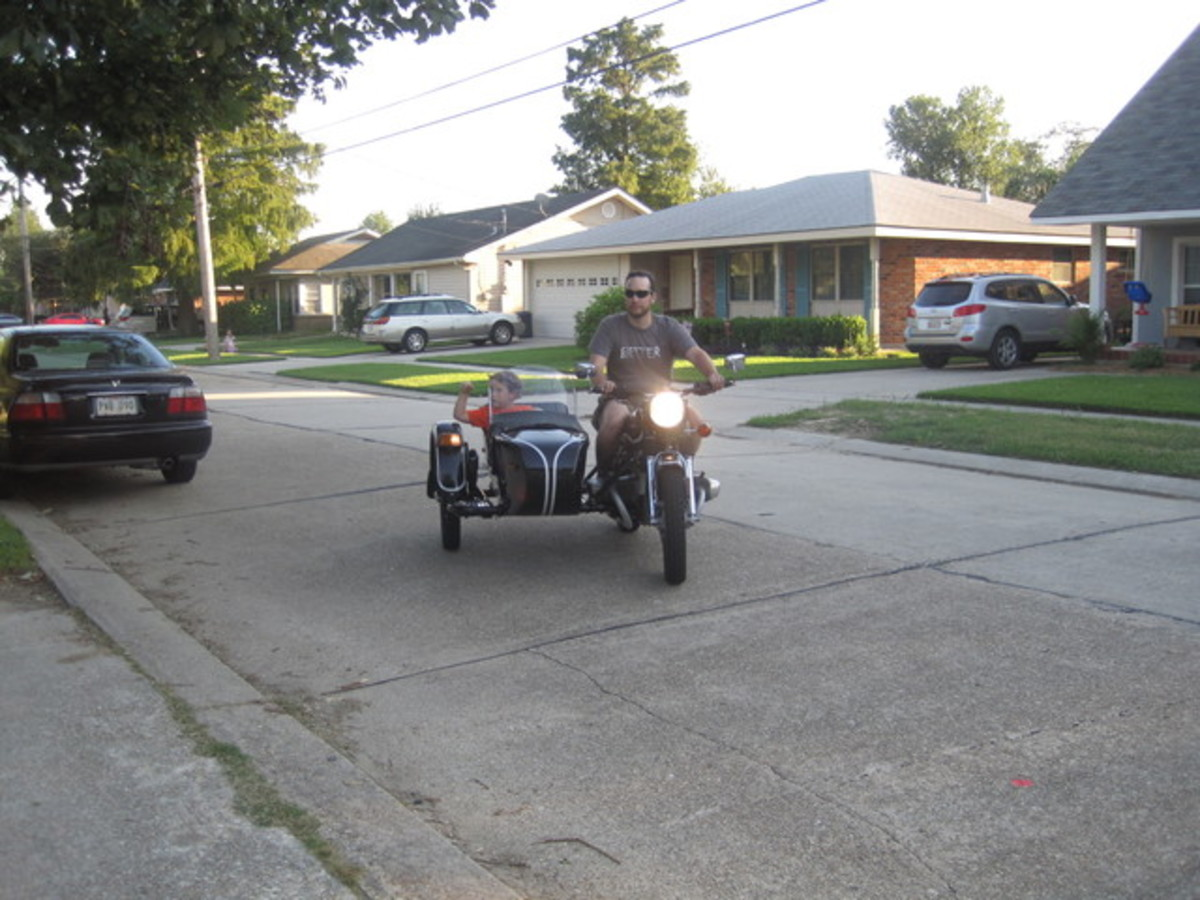 The reason to own a sidecar.