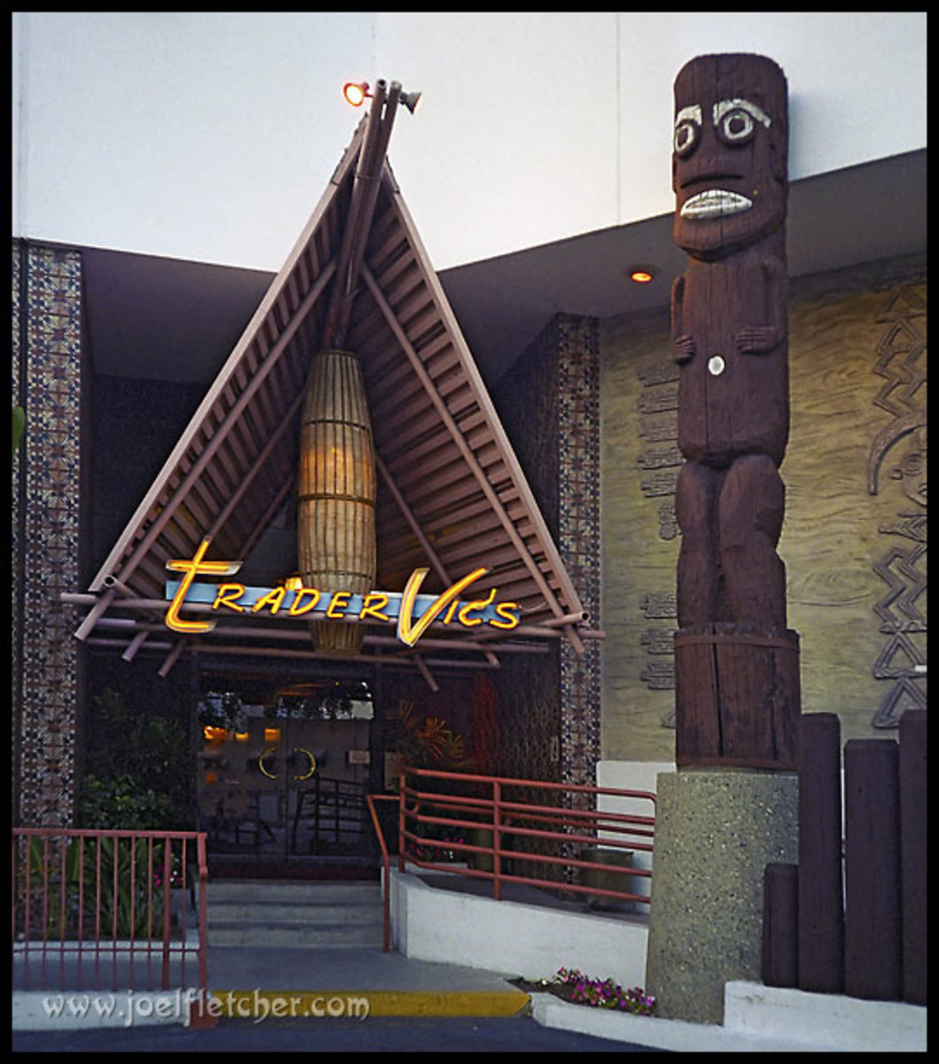 Trader Vic's in Beverly Hills, Ca.