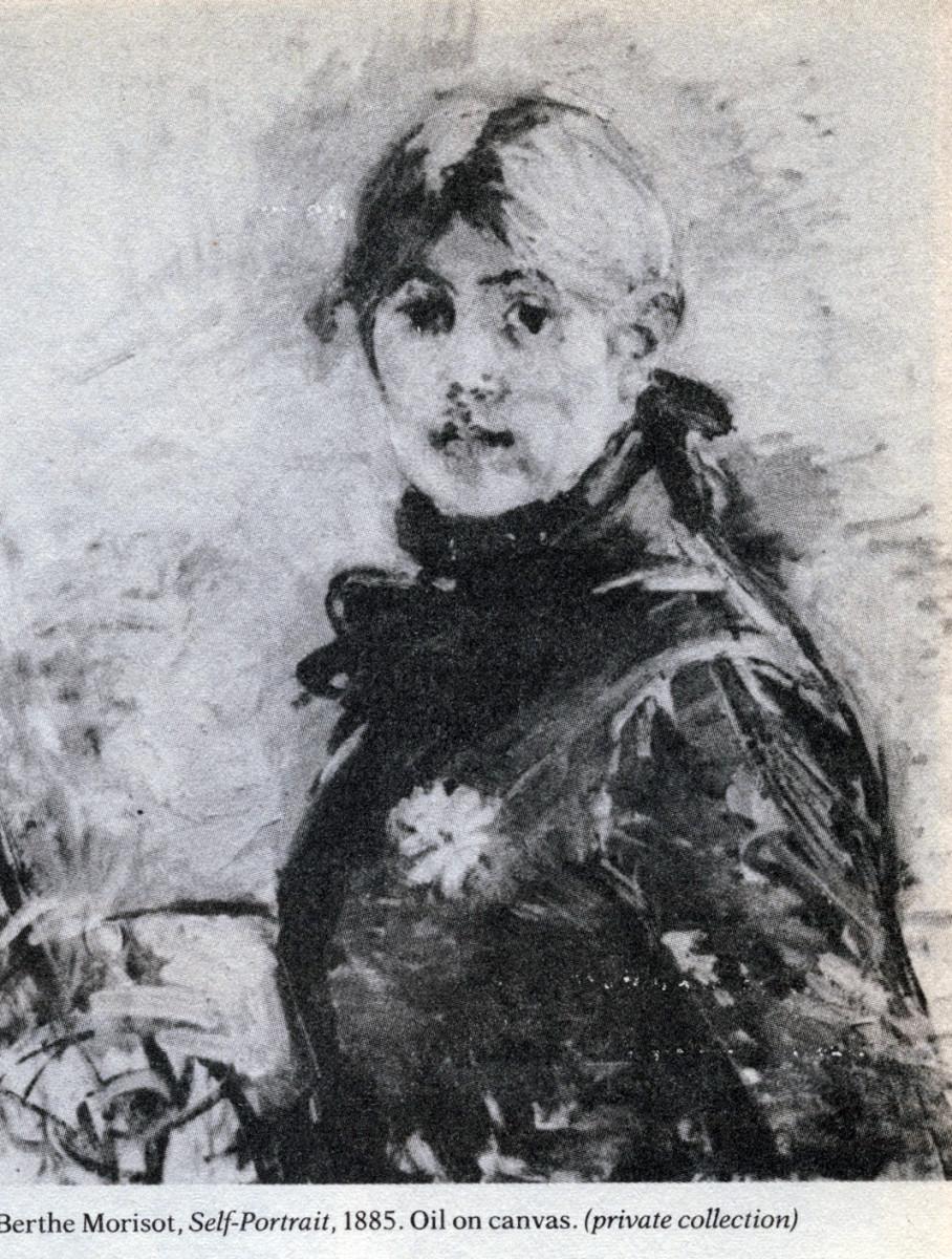 Berthe Morisot Self Portrait