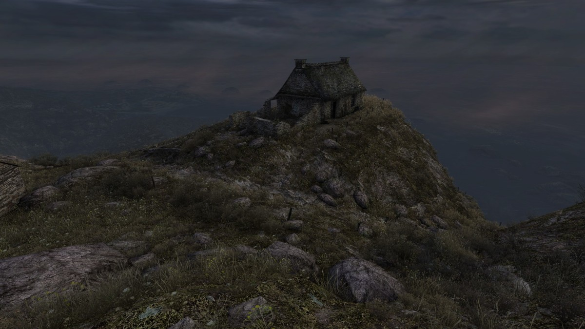 Dear Esther is the kind of game that Ebert would consider to be a 'representation', rather than a game. Whatever that means.