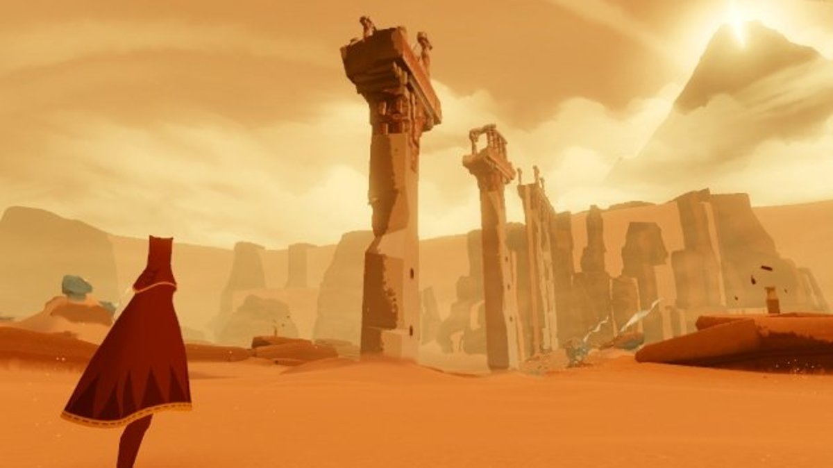 Journey is the latest release from thatgamecompany that is trying ambitiously to elevate games as an art form.