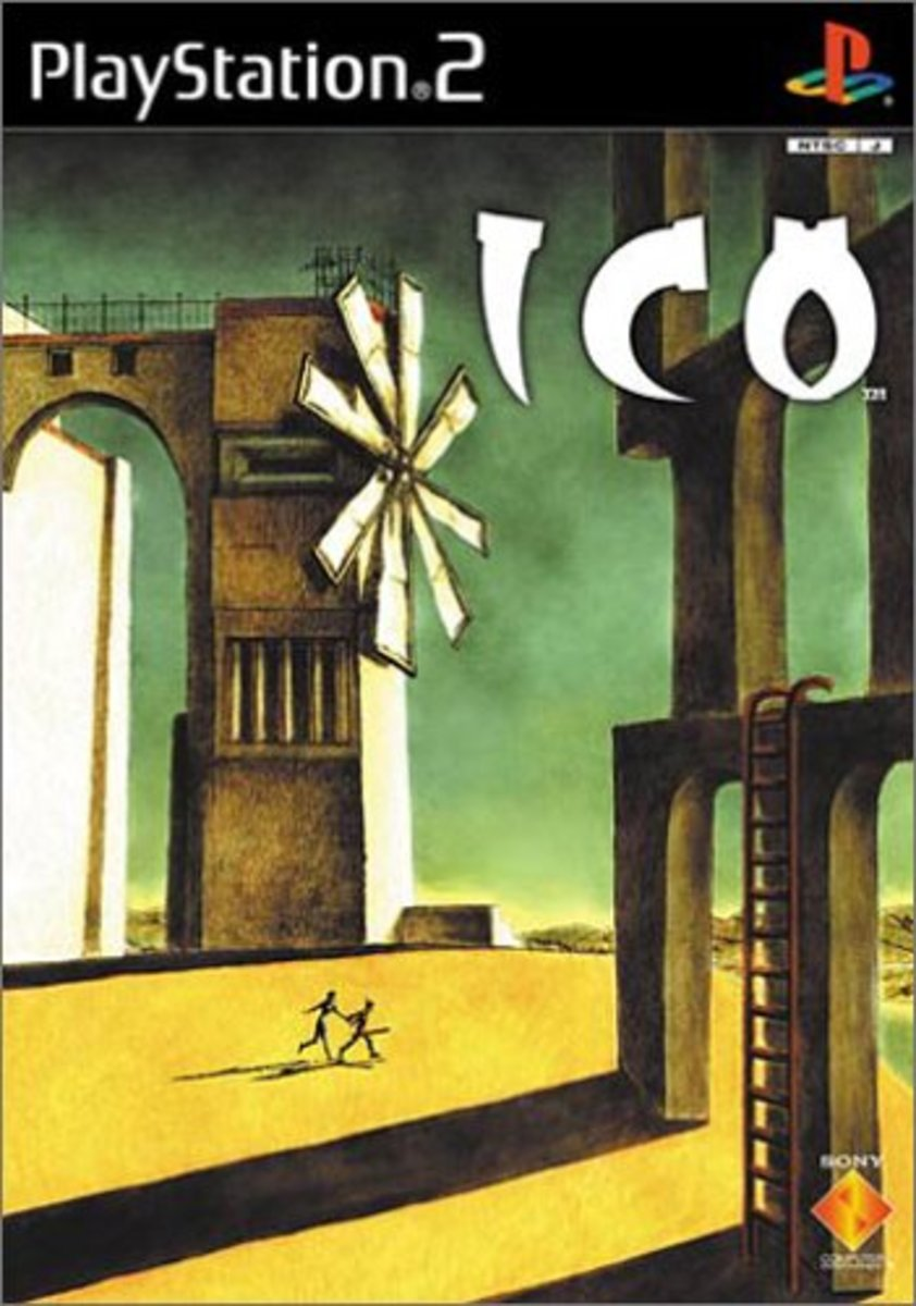 It's no surprise that the European and Japanese versions of Ico have a cover that pays homage to de Chirico. They share a common aesthetic.