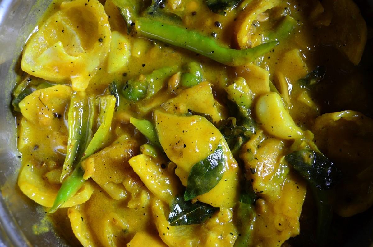 Naranga Achar ( Lemon Pickle)