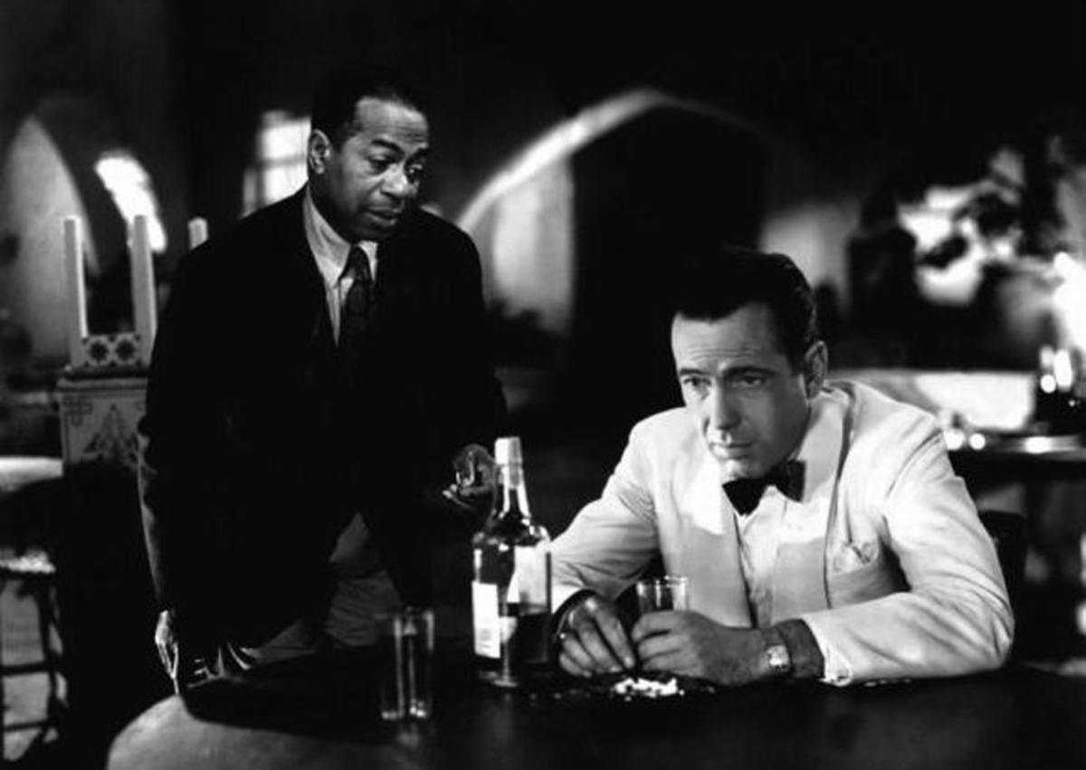 Dooley Wilson with Bogart