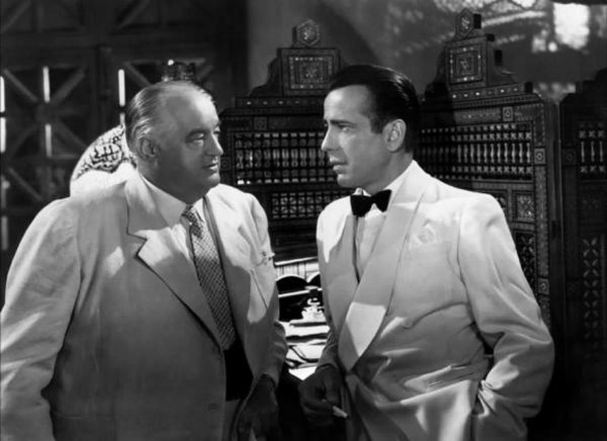 Sydney Greenstreet with Bogart