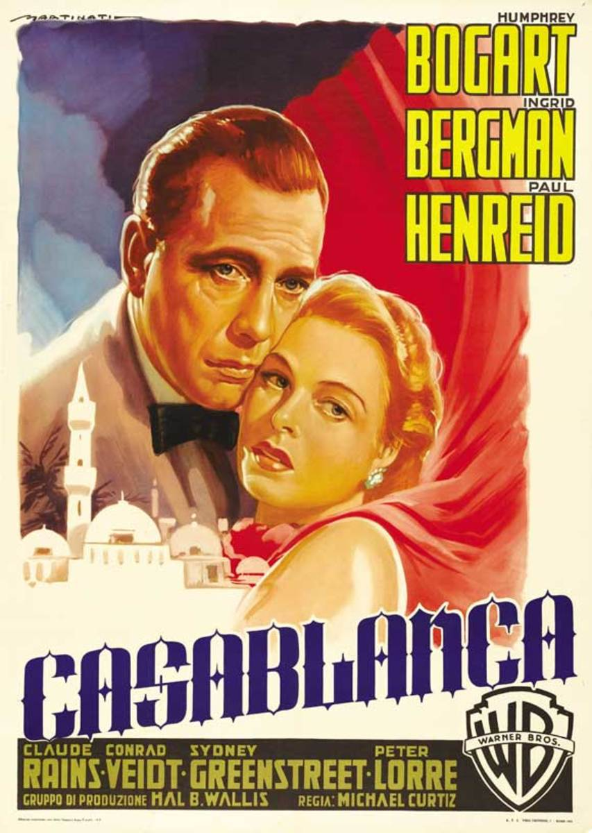 Casablanca (1942) - Illustrated Reference